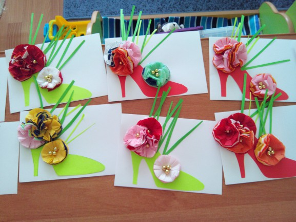 Проект открытка для детского сада, стандартных открыток